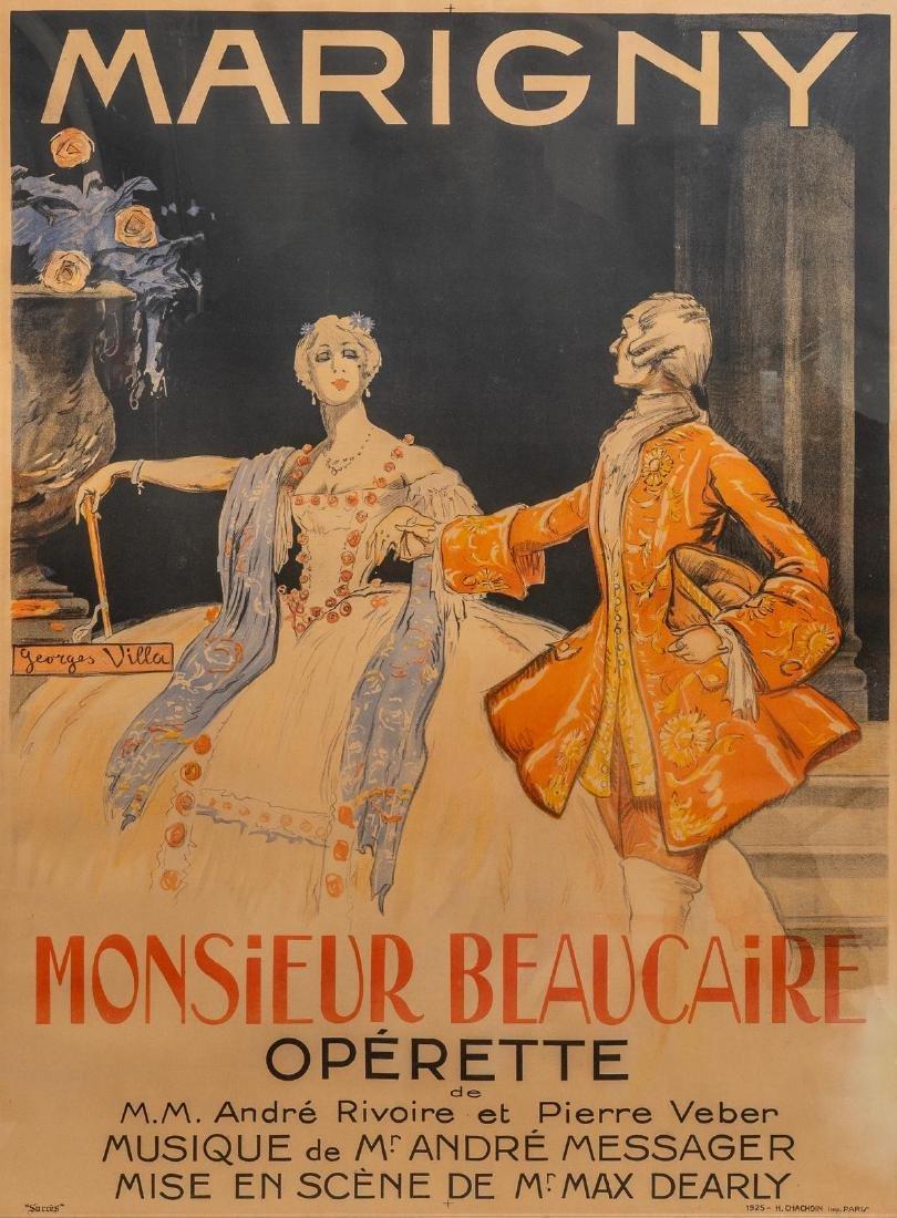 Georges Villa (France, 1883-1965), Monsier Beaucaire
