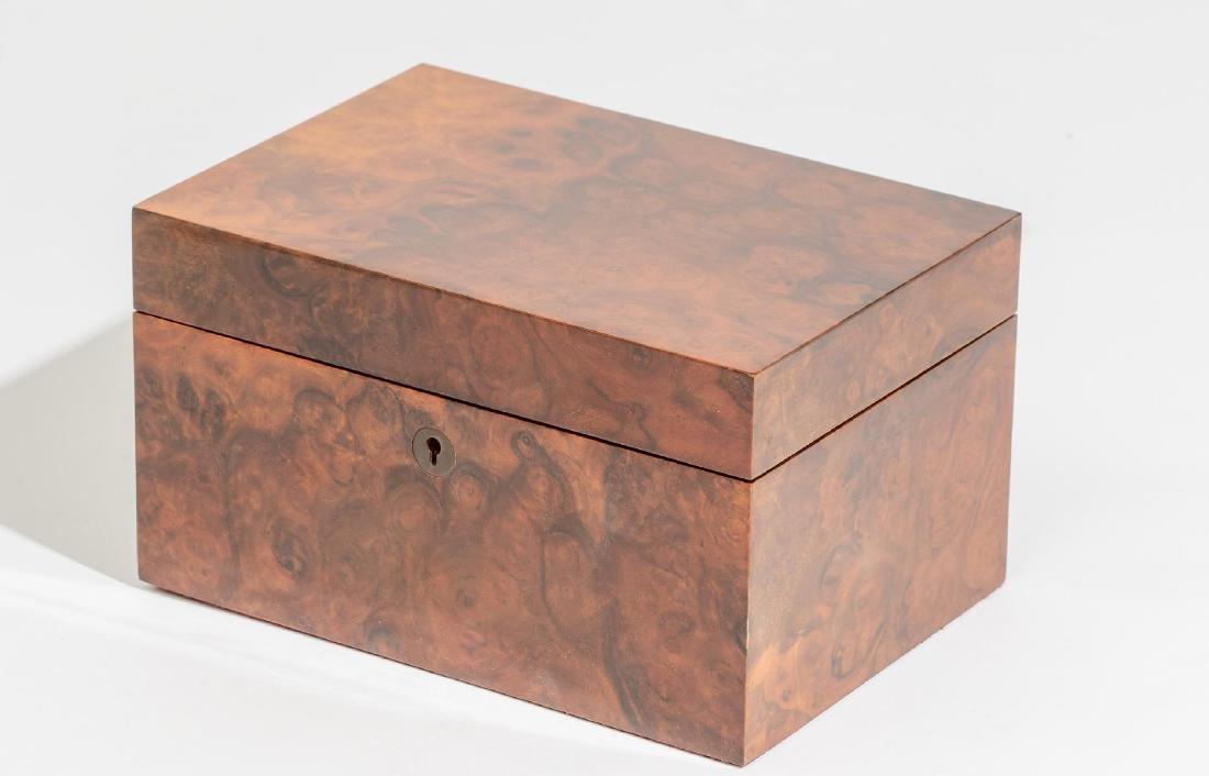 Asprey & Co.(London, 20th century), Burl Wood Humidor - 2