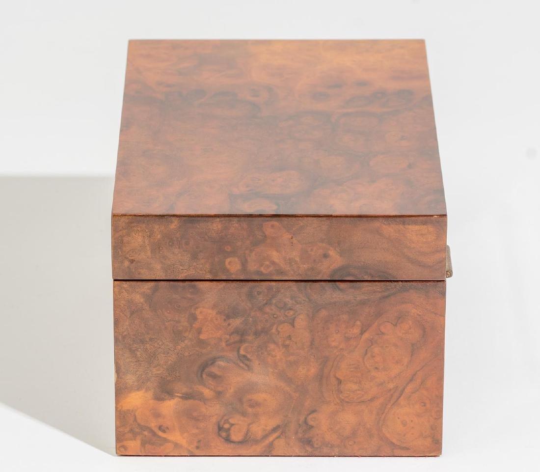 Asprey & Co.(London, 20th century), Burl Wood Humidor - 3