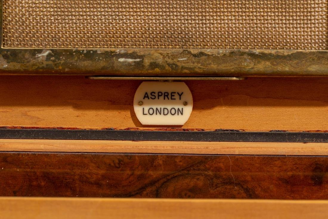 Asprey & Co.(London, 20th century), Burl Wood Humidor - 7