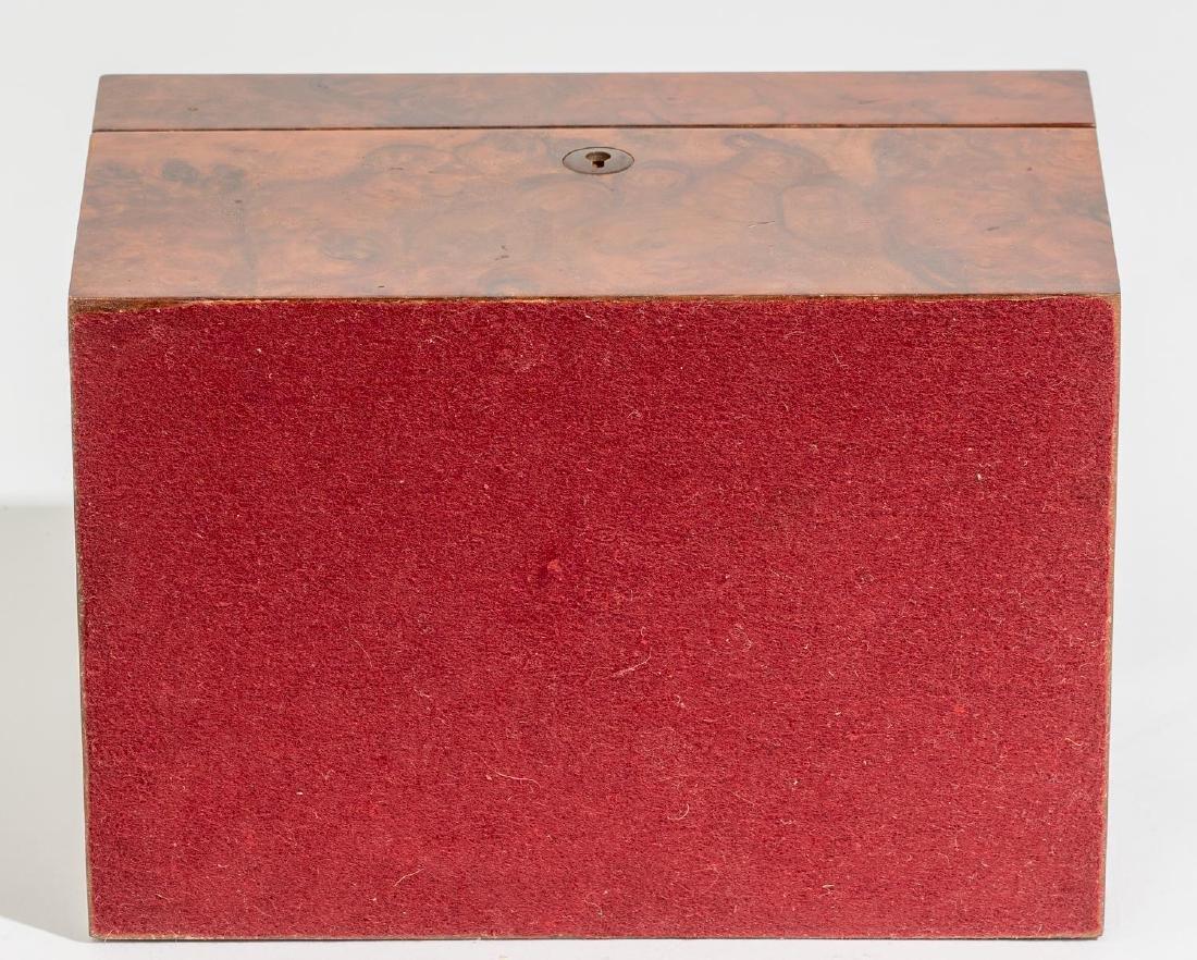 Asprey & Co.(London, 20th century), Burl Wood Humidor - 8
