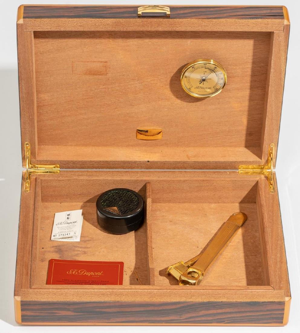 S.T. Dupont (Paris, 20th century), Wood Humidor - 5
