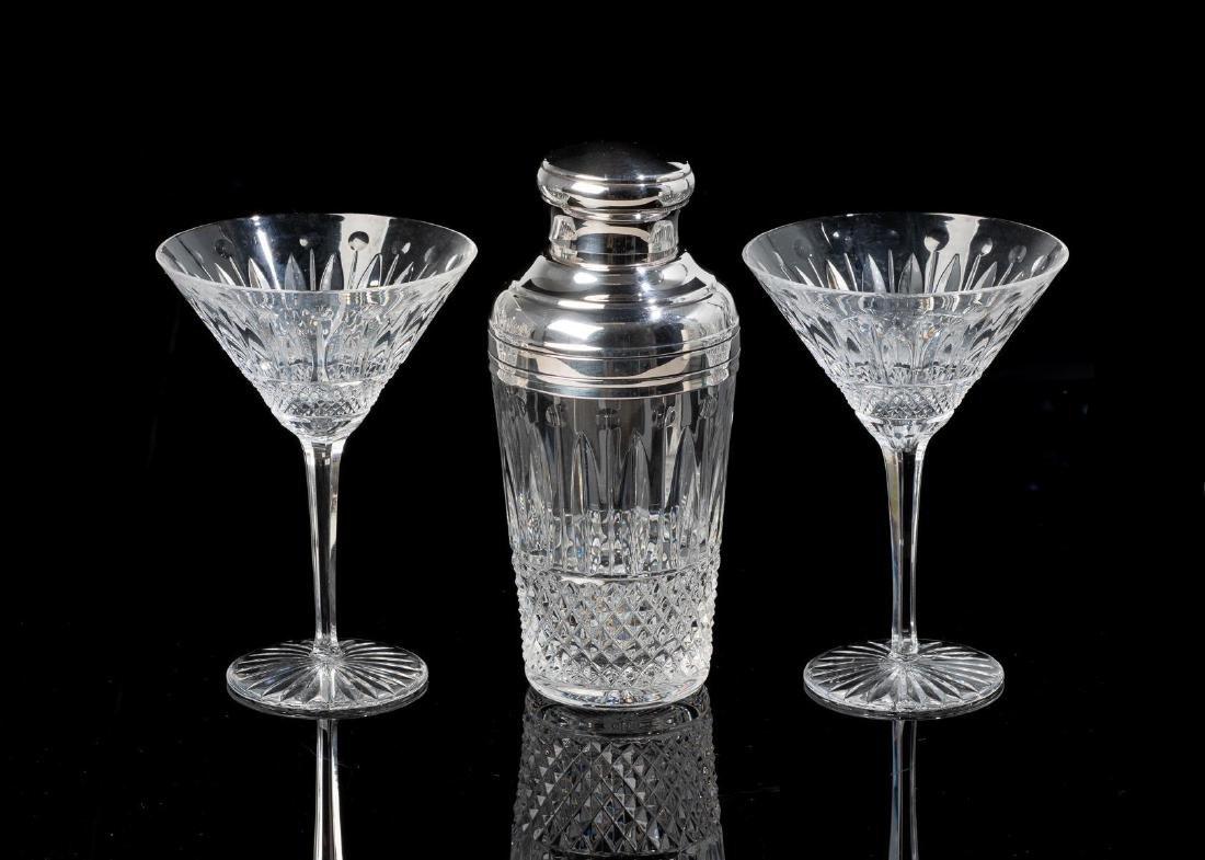 "Saint-Louis, ""Tommy"", Crystal Cocktail Set"