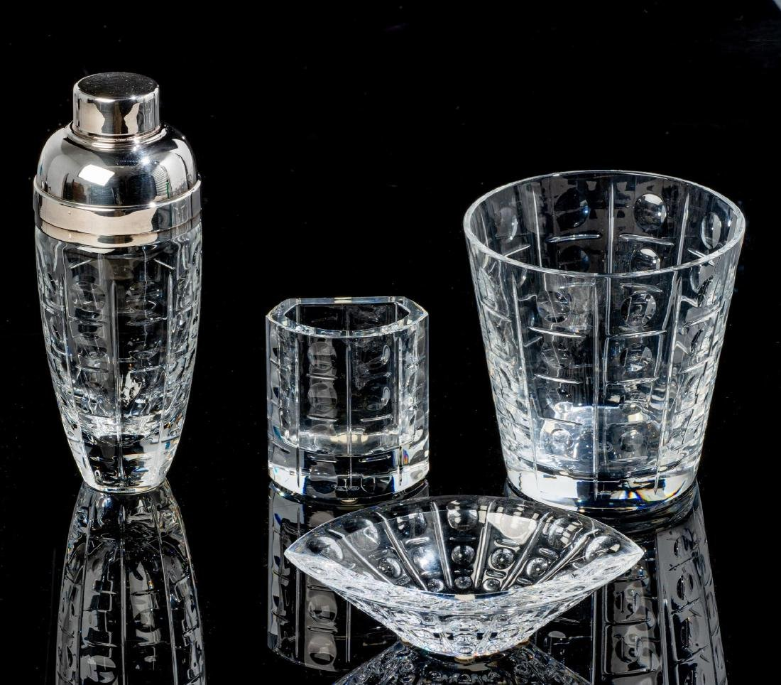 """Baccarat, """"Equinoxe"""", Crystal Cocktail Serving Set"""