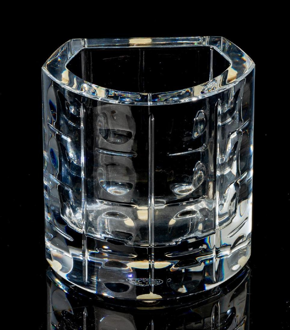 """Baccarat, """"Equinoxe"""", Crystal Cocktail Serving Set - 2"""