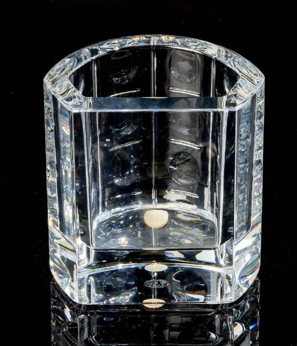 """Baccarat, """"Equinoxe"""", Crystal Cocktail Serving Set - 3"""
