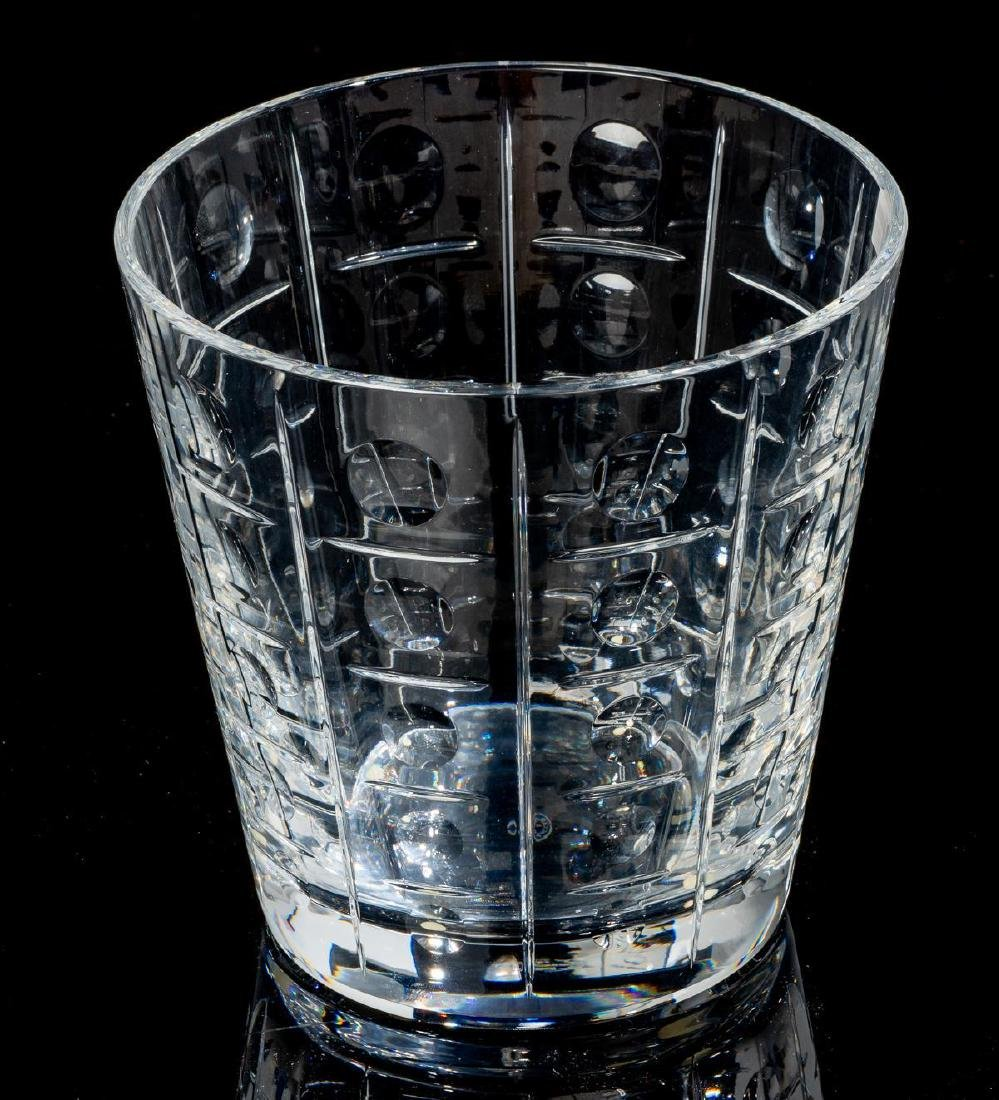 """Baccarat, """"Equinoxe"""", Crystal Cocktail Serving Set - 6"""