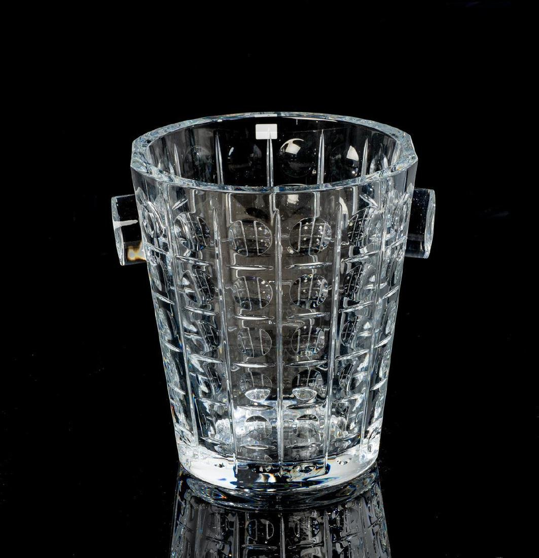 "Baccarat, ""Equinoxe"", Crystal Champagne Bucket"