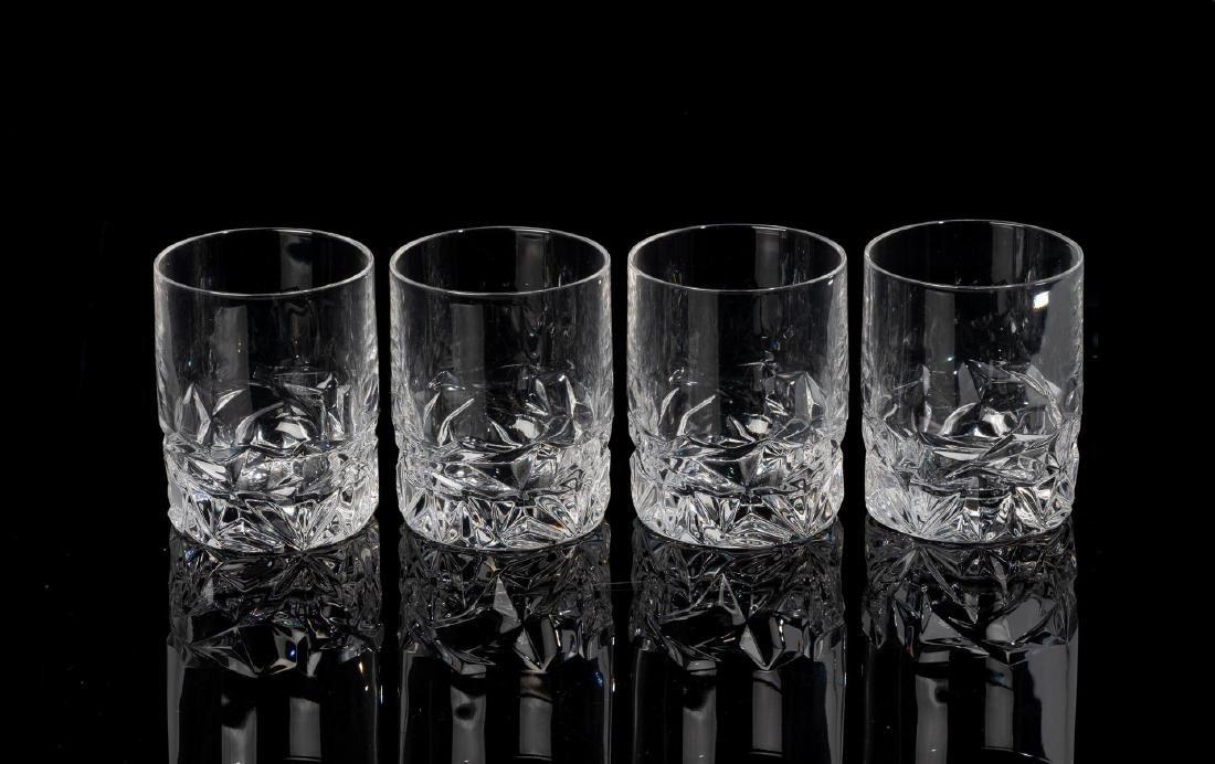 Tiffany & Co. Rock Cut Crystal Old-Fashioned Glasses