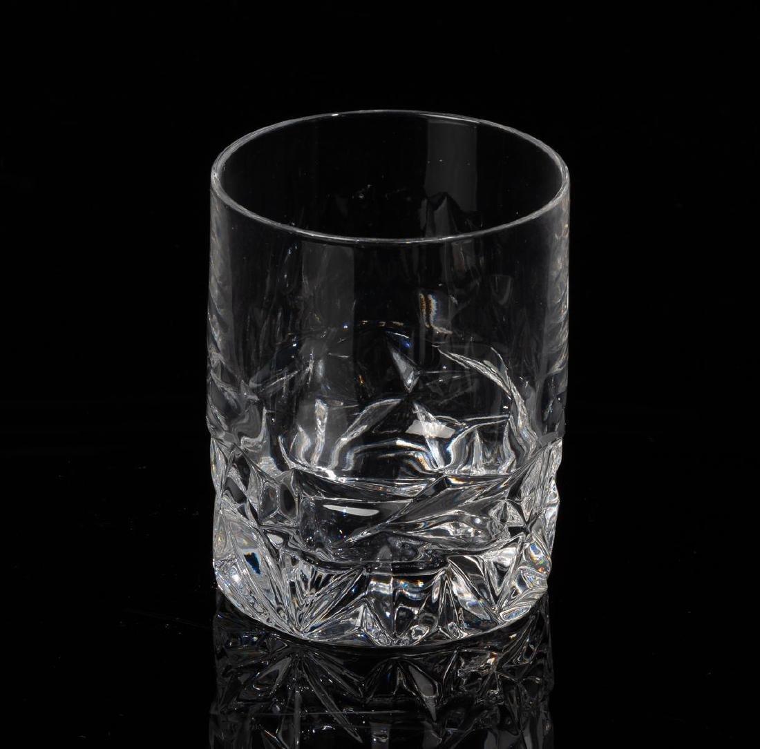 Tiffany & Co. Rock Cut Crystal Old-Fashioned Glasses - 3
