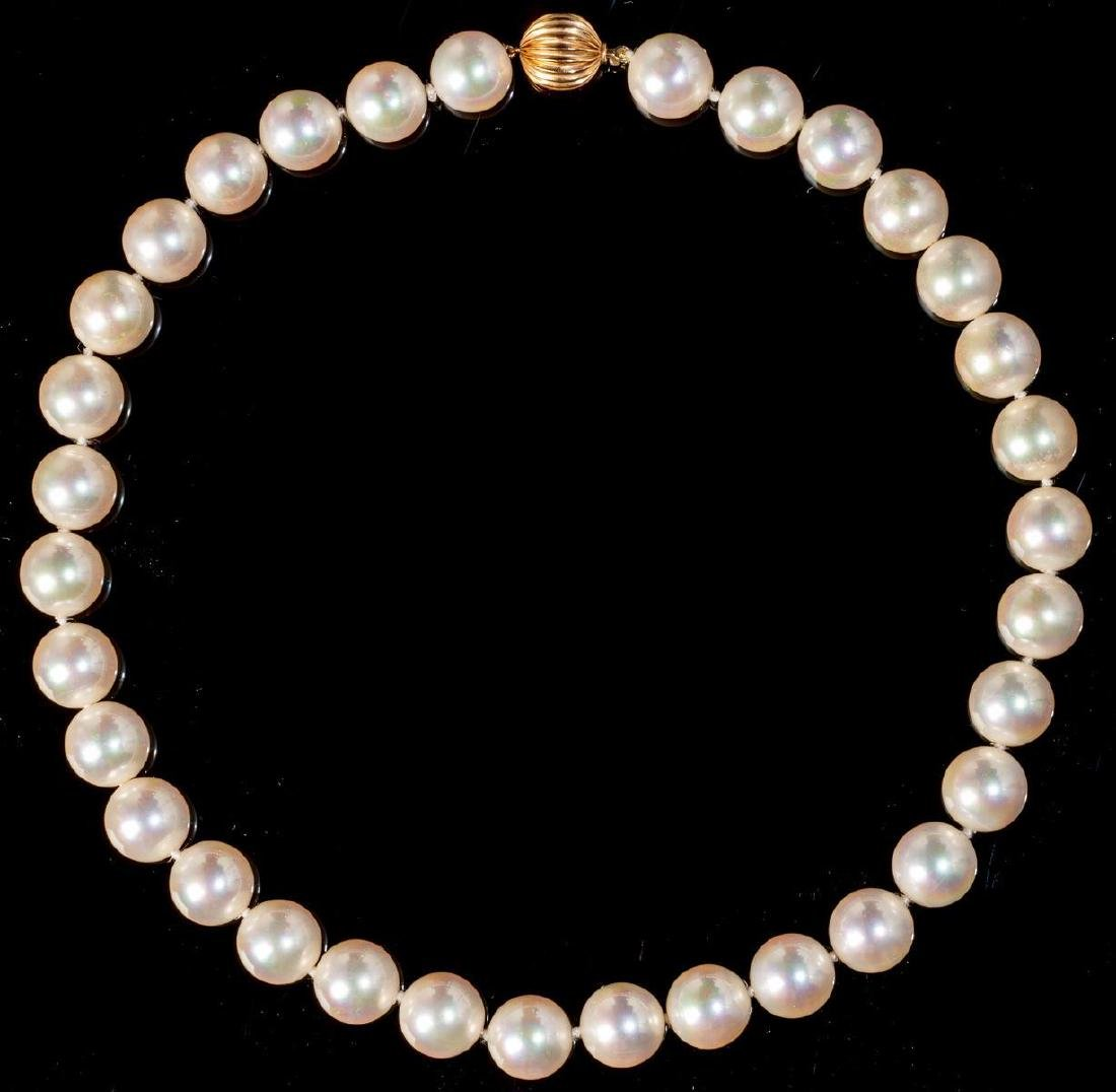 Pearl Strand Necklace 12.2 MM