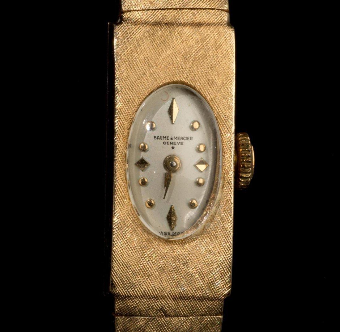 Ladies' Baume & Mercier 14k Gold Wrist Watch - 3