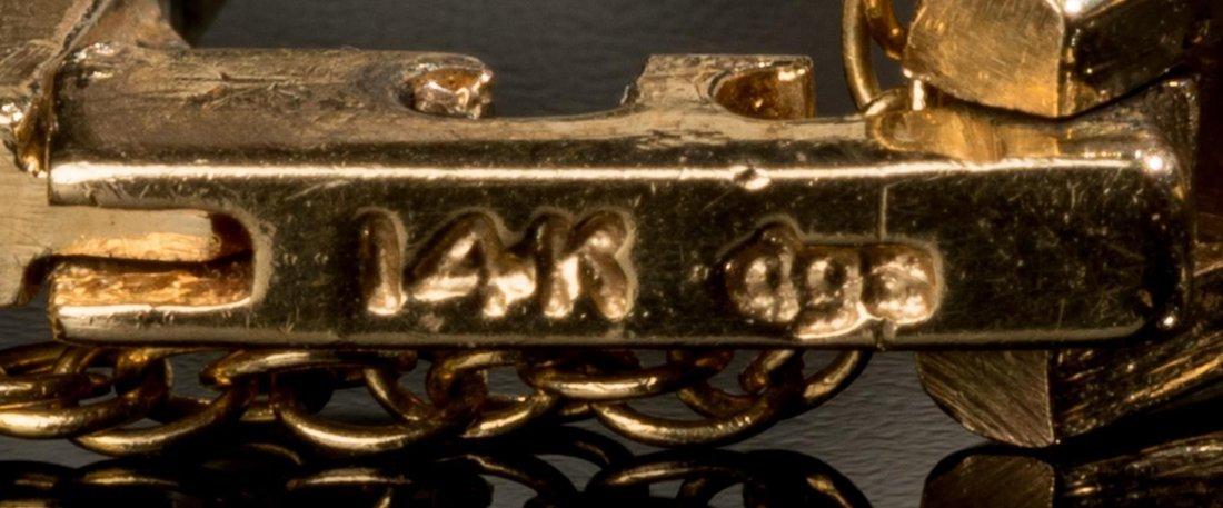 Ladies' Baume & Mercier 14k Gold Wrist Watch - 6