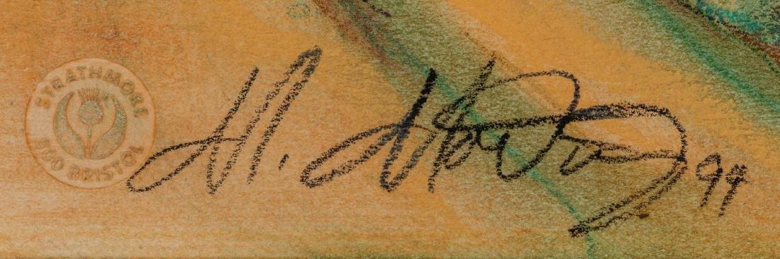 """Miguel Martinez, """"Pilgrimage to Chimayo"""", 1994, pastel - 2"""