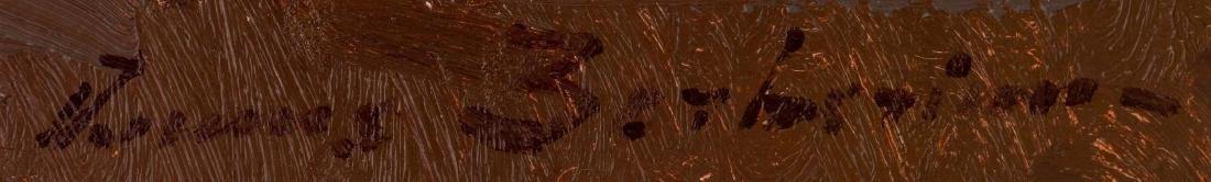 "Ovanes Berberian, landscape, oil on canvas, 24 x 36"" - 3"