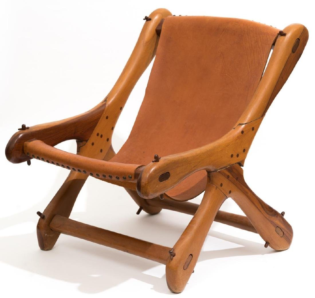 "Don Shoemaker, ""Sloucher"" Chair, 1960's"