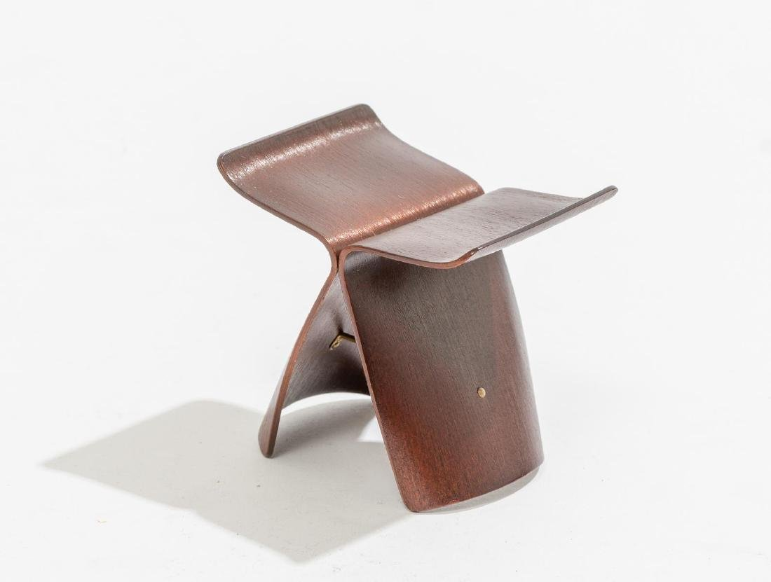 "Sori Yanagi, ""Butterfly"" Stool for Vitra Design"