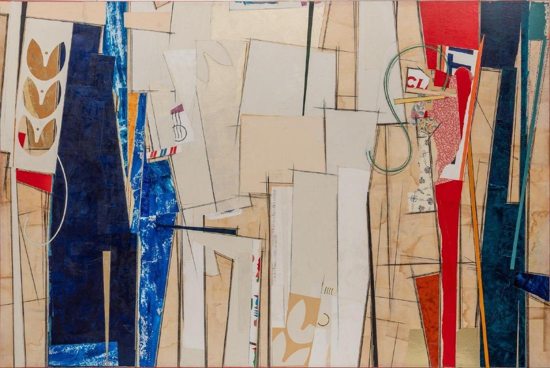 "John Pavlicek (American, b. 1946), ""Shasta III"", mixed"