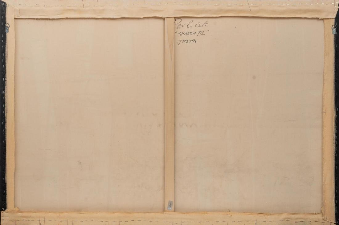 "John Pavlicek (American, b. 1946), ""Shasta III"", mixed - 2"