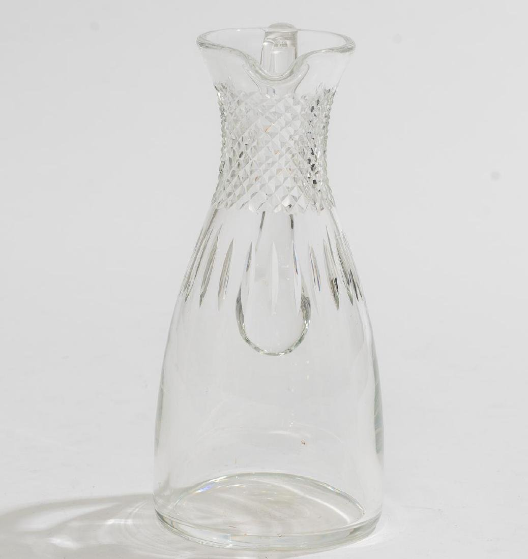 Lalique (France, 20th century), Cut Crystal Pitcher - 2