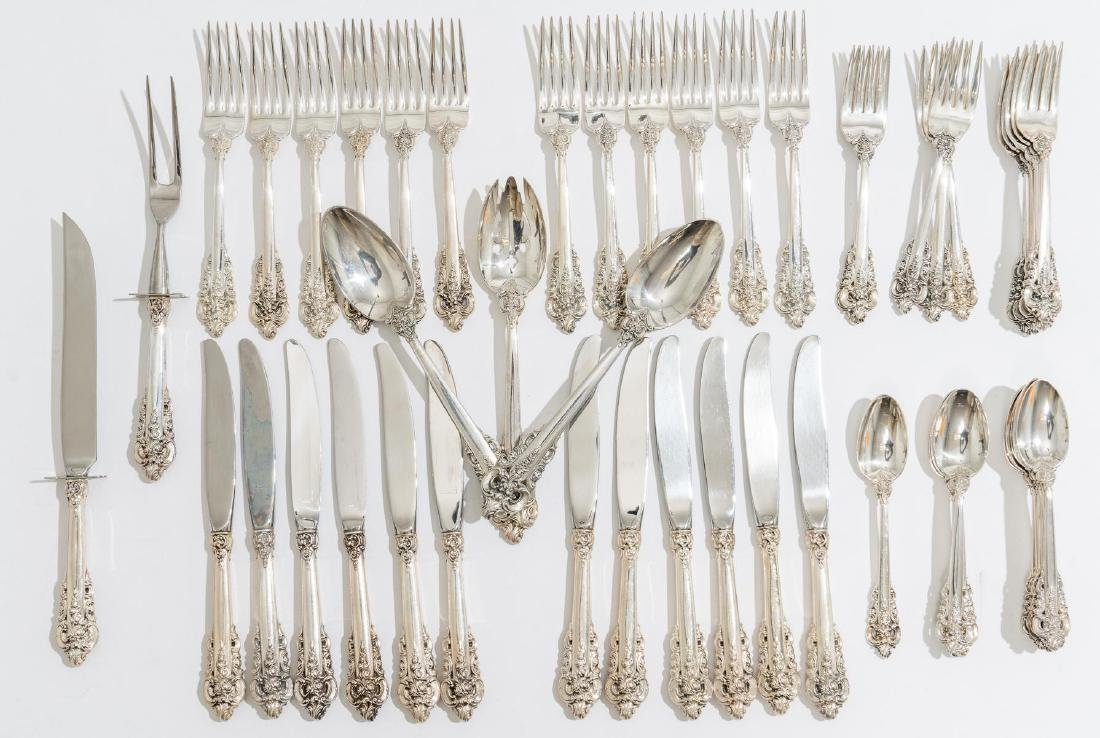 Grande Baroque by Wallace Sterling Silver Flatware