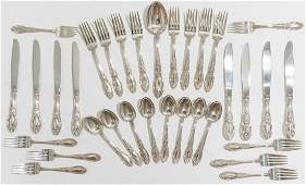 King Richard by Towle 32 Pc Sterling Flatware