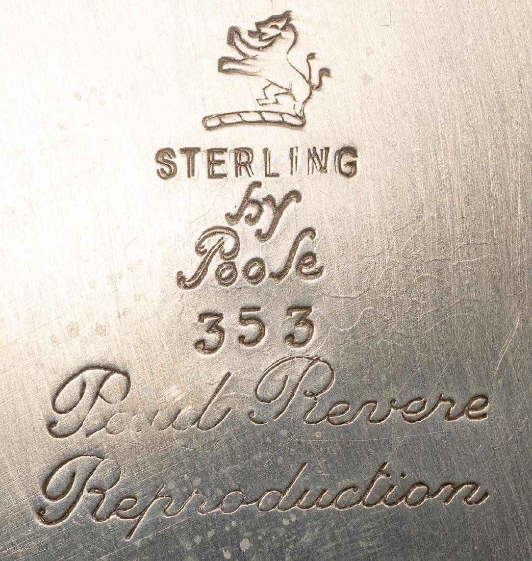 Poole (American, 20th century), Revere Sterling Silver - 4