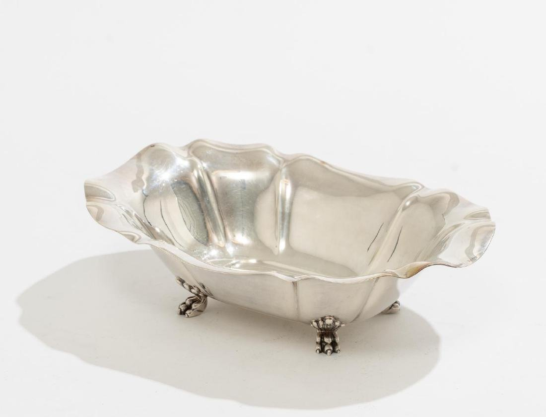 Salem by Reed & Barton Pair Sterling Serving Dishes - 4