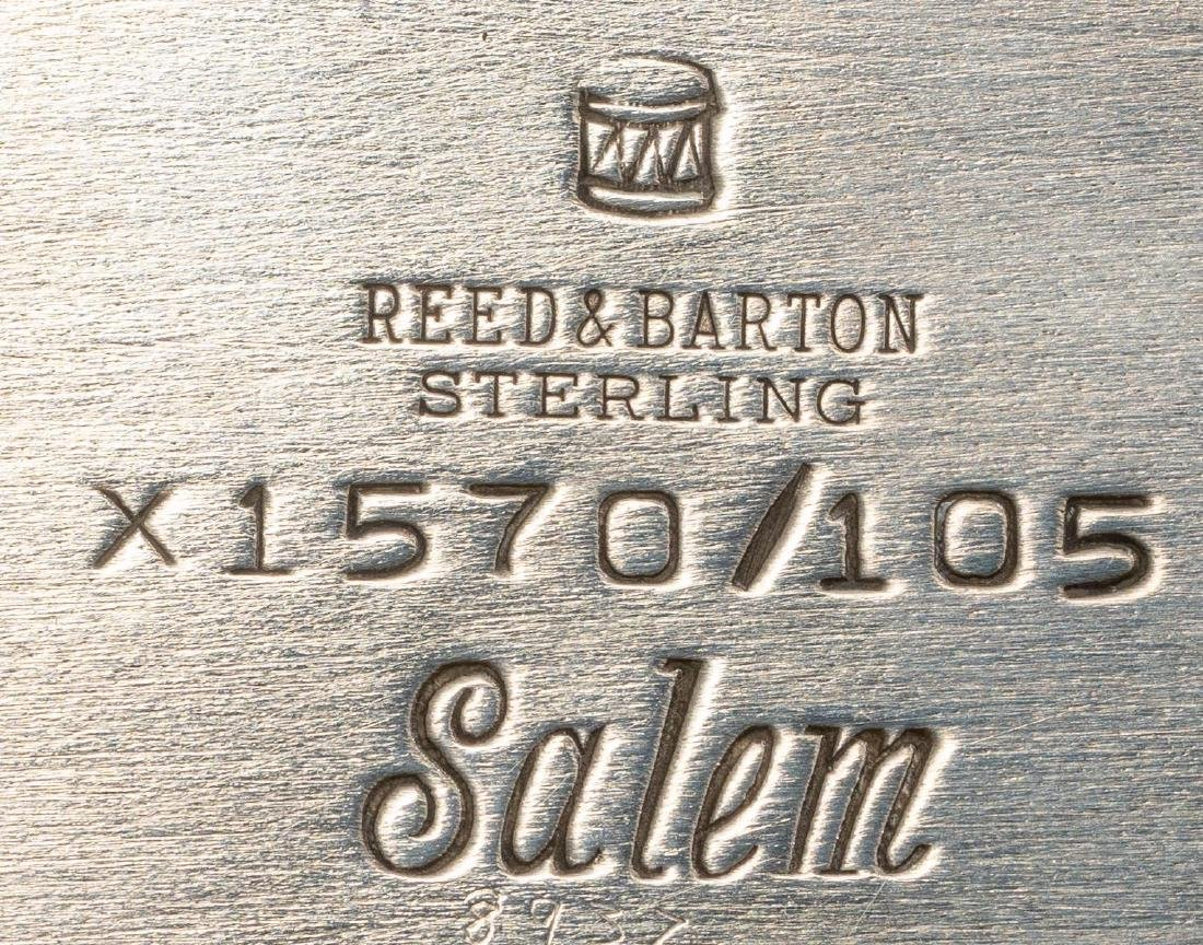 Salem by Reed & Barton Pair Sterling Serving Dishes - 5