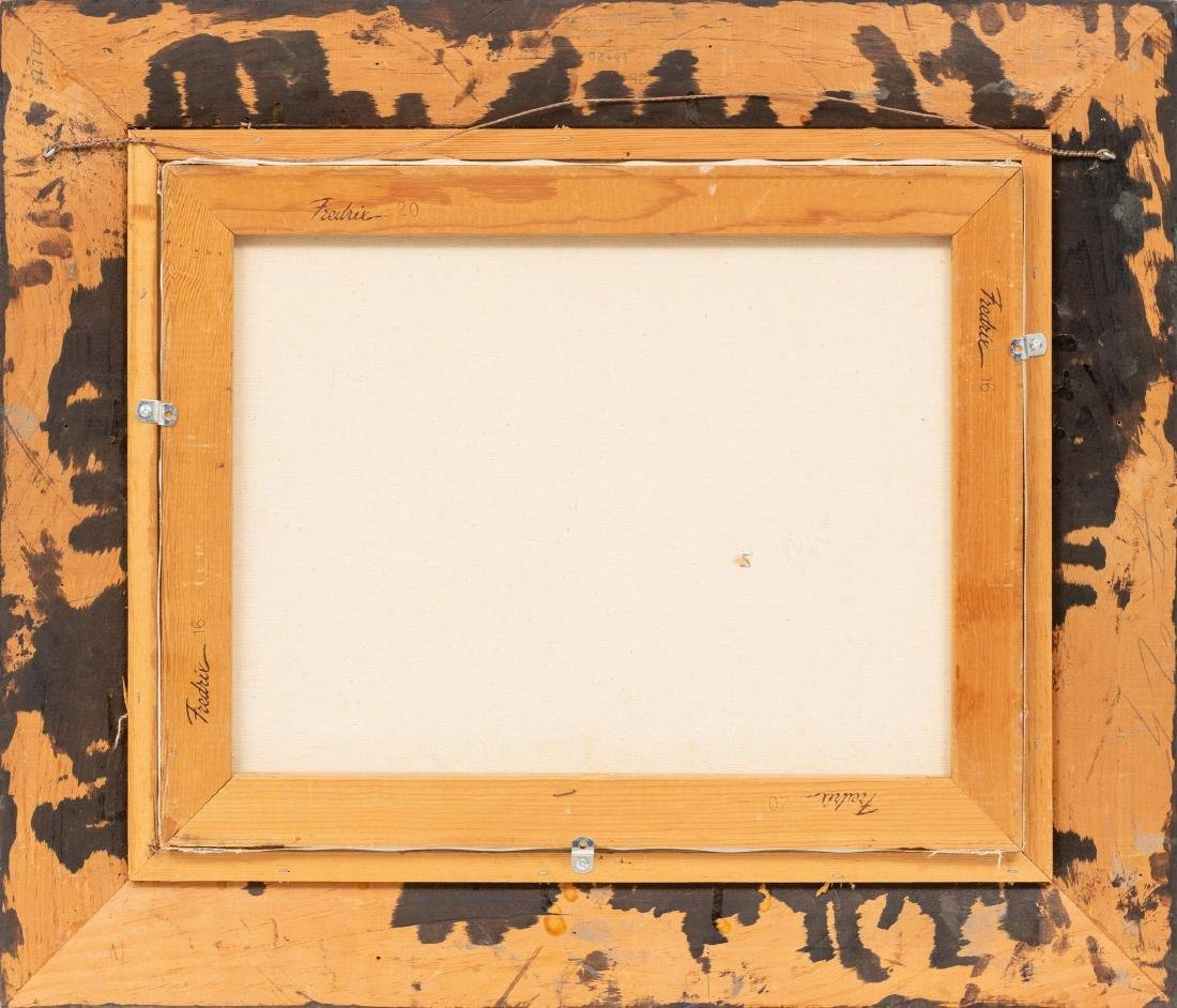 Robert Harrison (b. 1949), Cowboy, oil on canvas, - 4