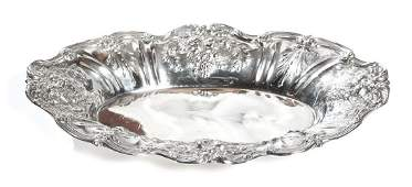 Sterling Silver Bread Tray Francis I by Reed  Barton