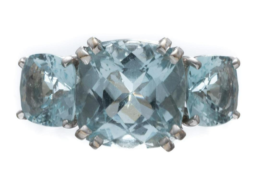 Seaman Schepps Ladies Aquamarine Ring