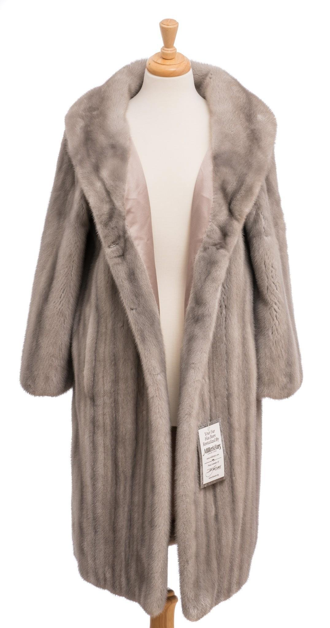 Christian Dior Boutique Paris Mink Coat