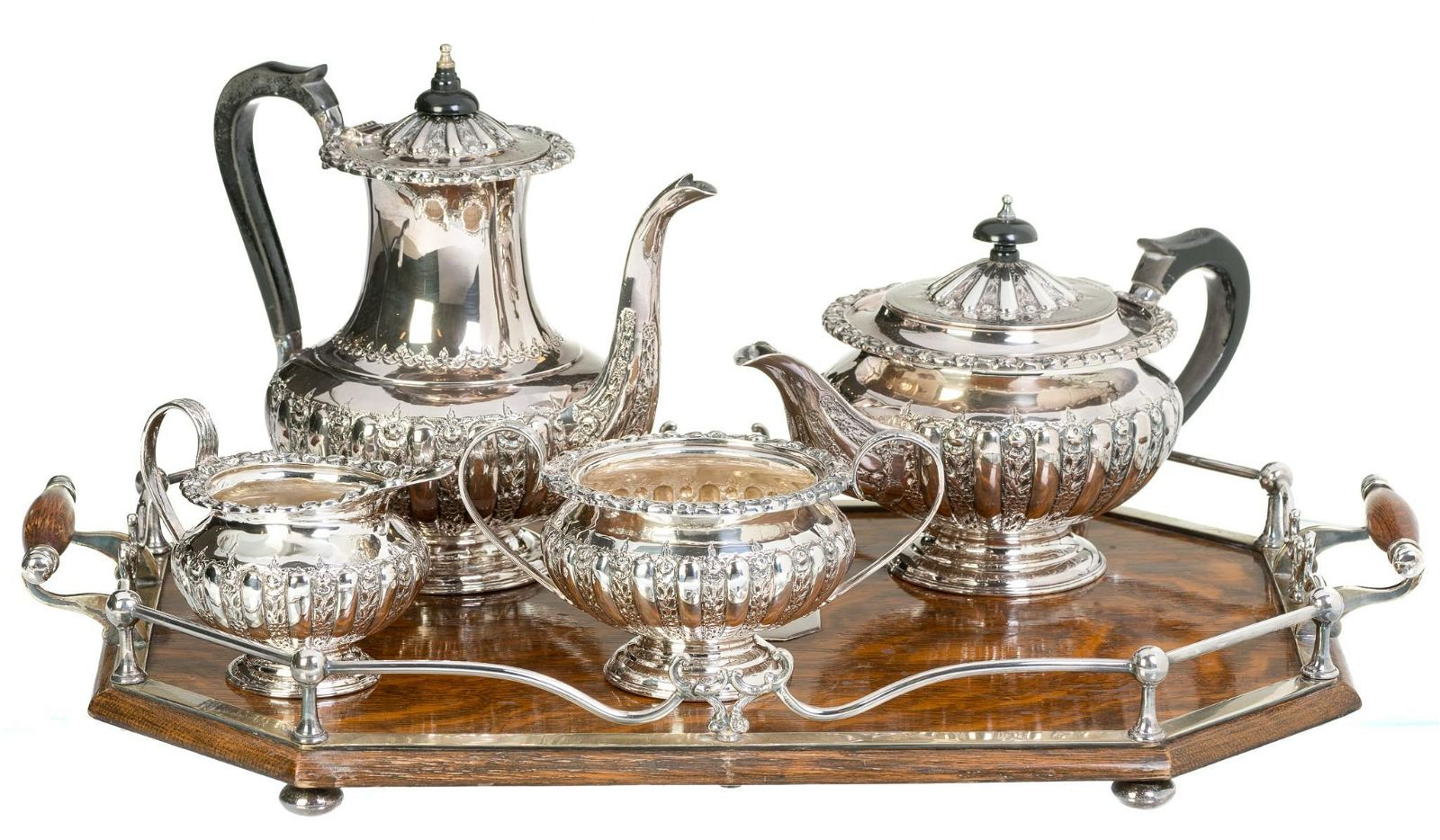 Mappin Brothers Sterling Silver Tea Set