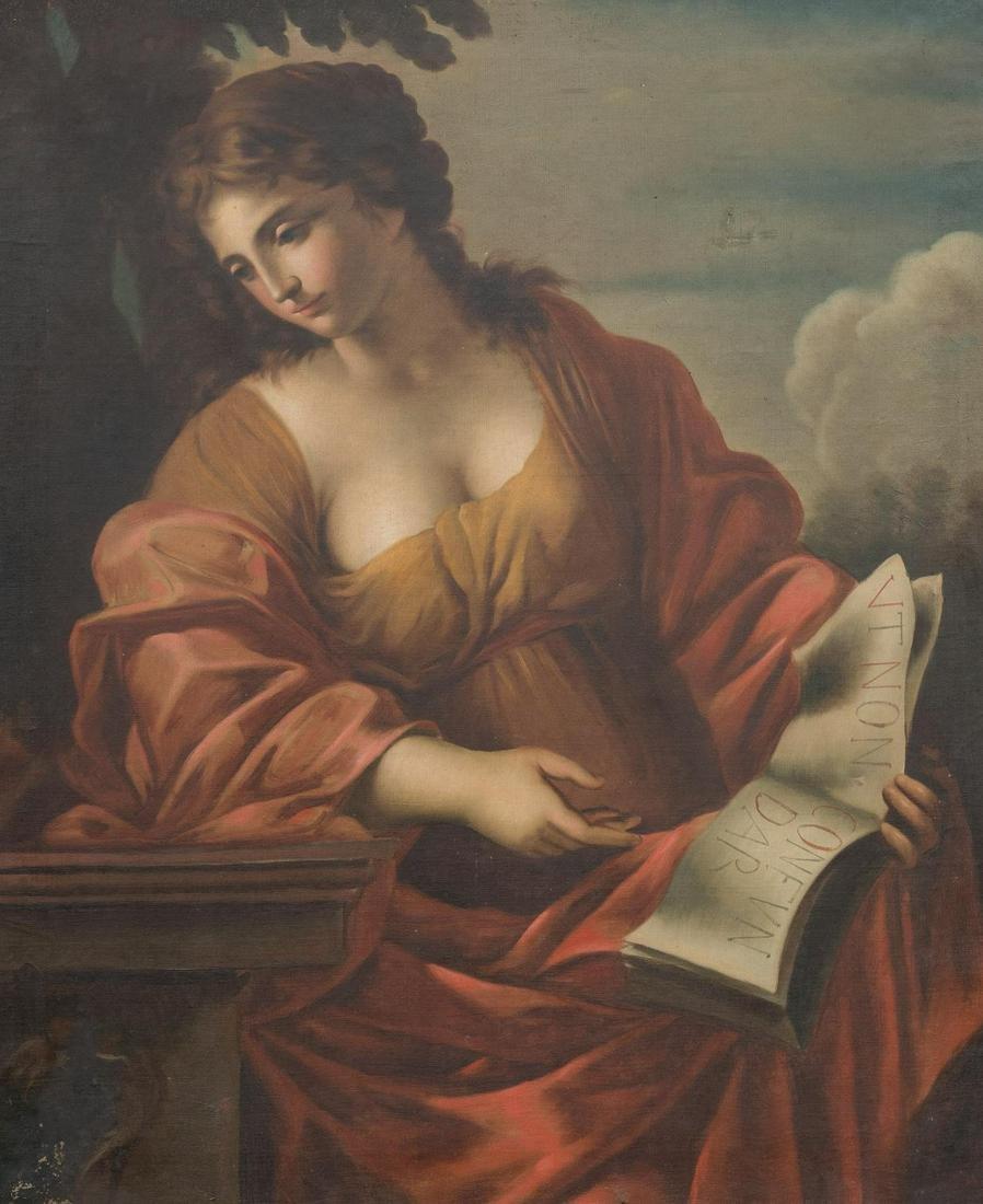 Manner of Giovanni Francesco Romanelli, Portrait of a