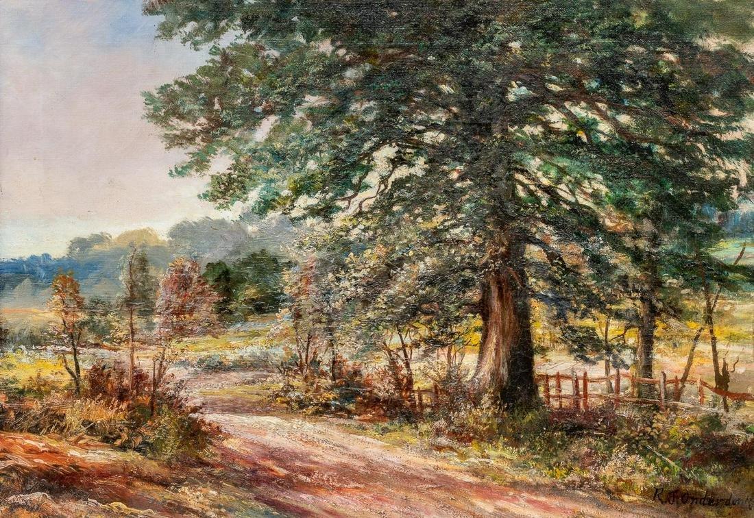 Robert Onderdonk (1852-1917), Early Texas Landscape,