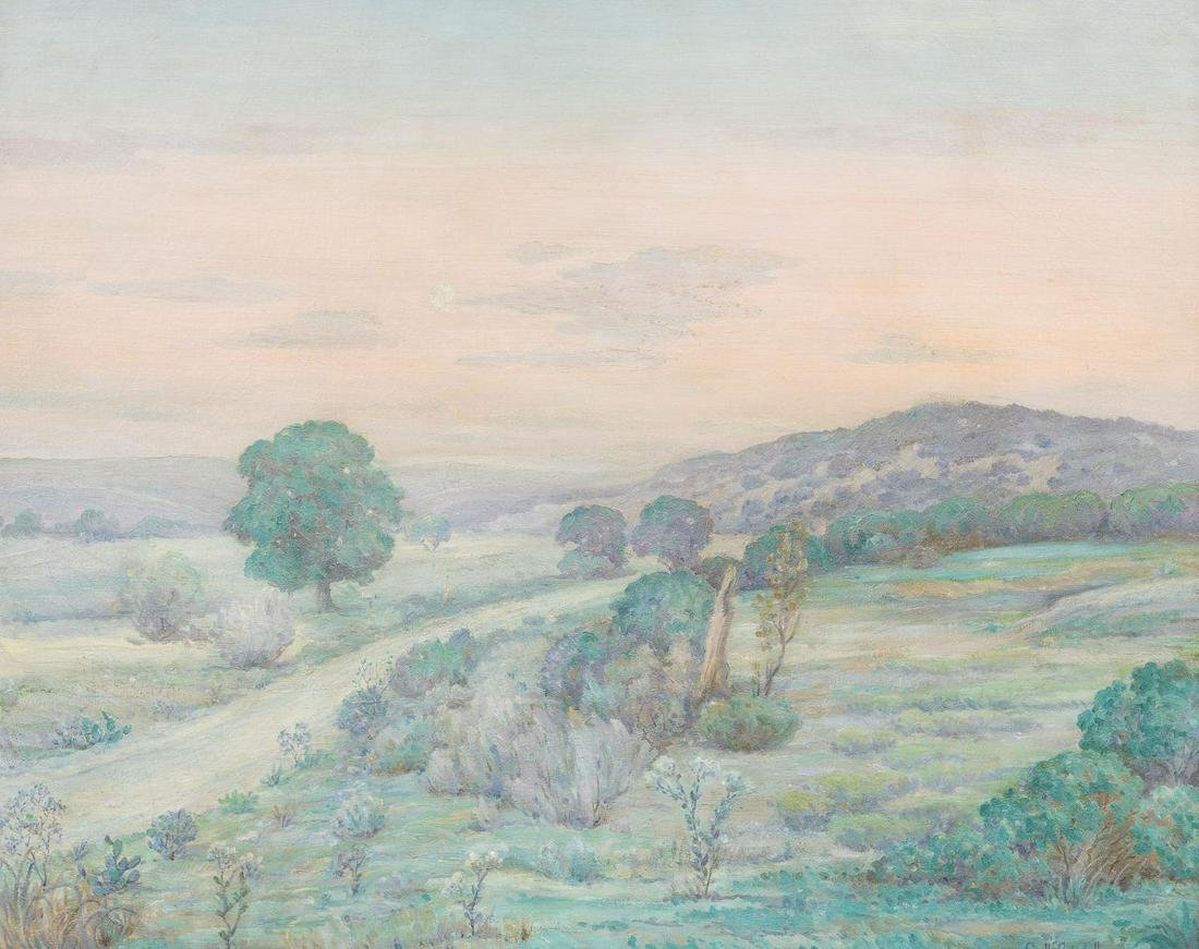 Orville Campbell (1903-1987), Kerr County Spring,1935,