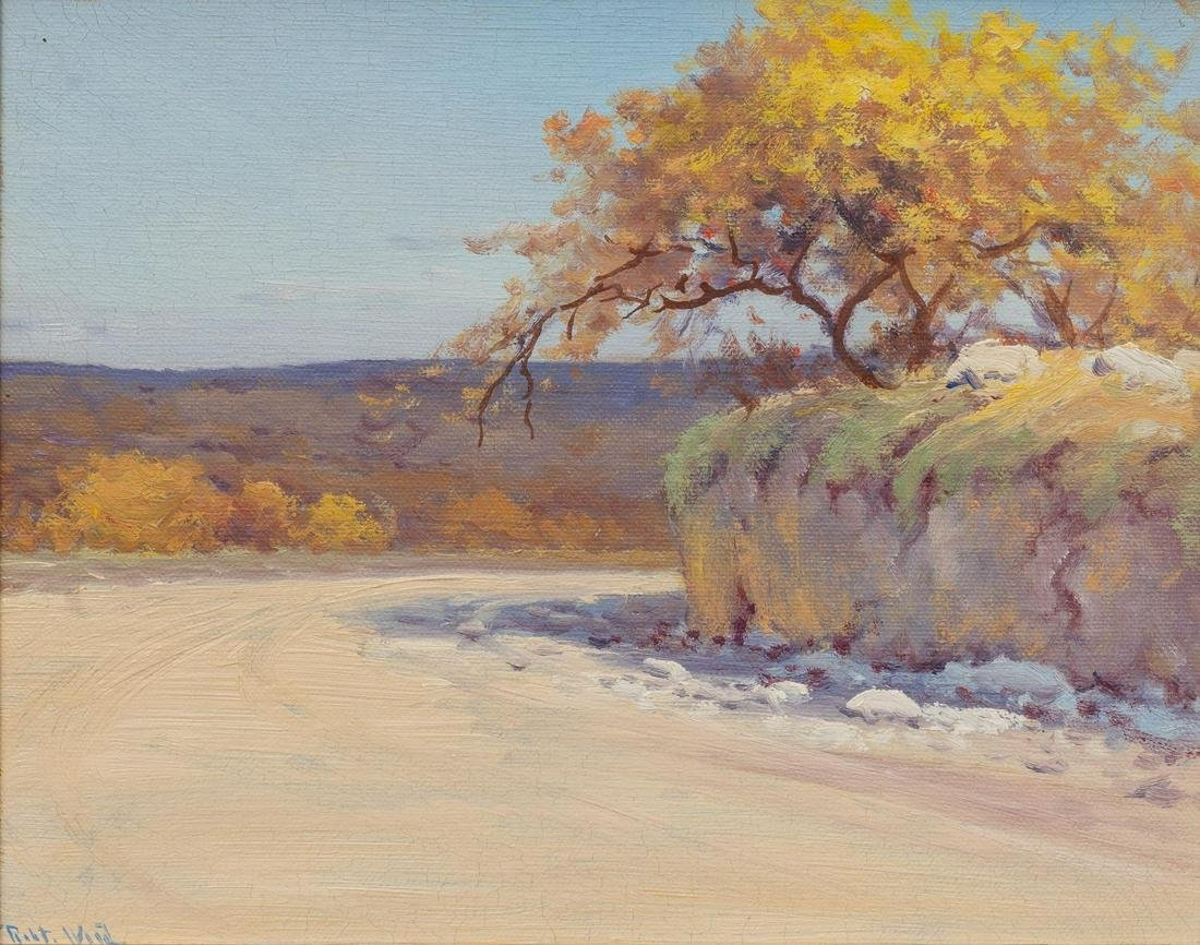 Robert Wood (1889-1979), Hill Country Trail, oil