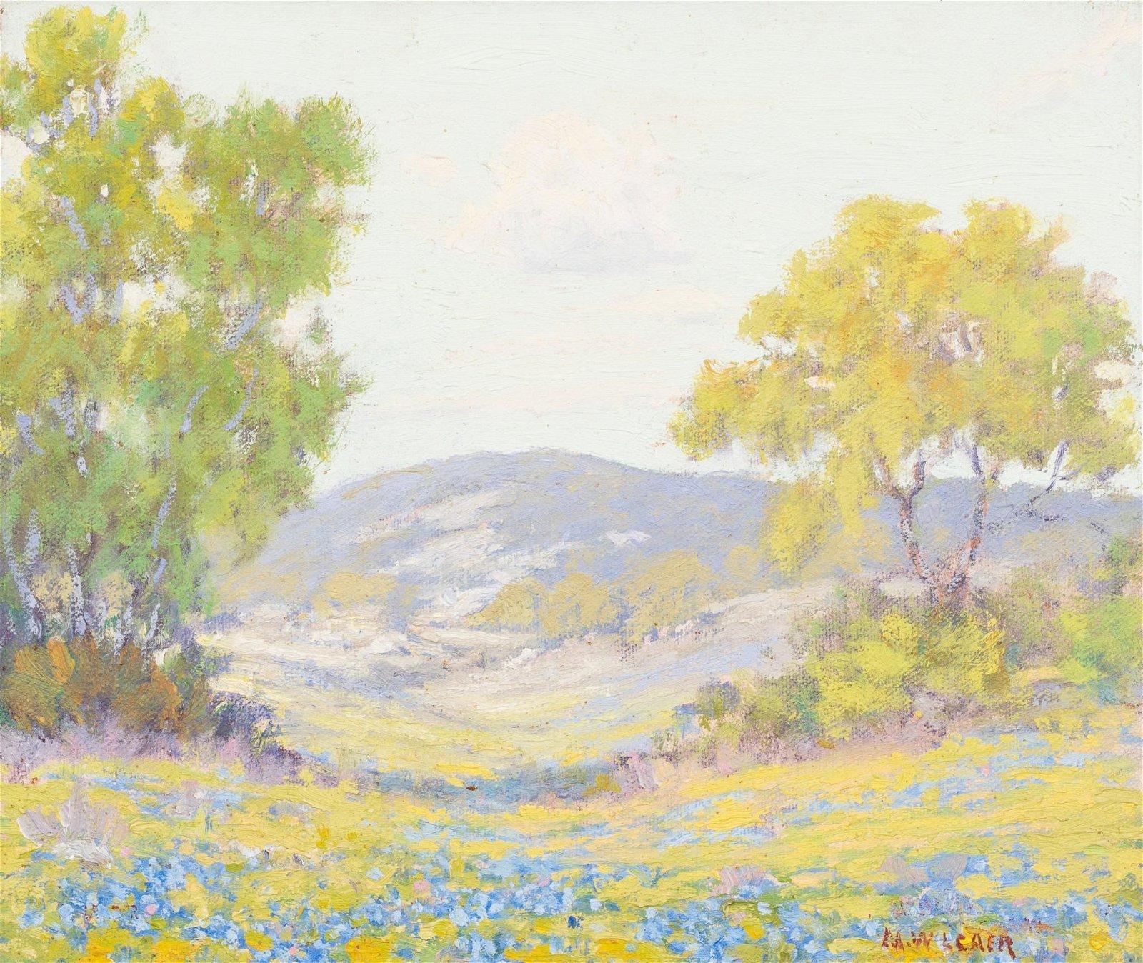 "Morris Walton Leader (1877-1966), ""Scene Near Austin"""
