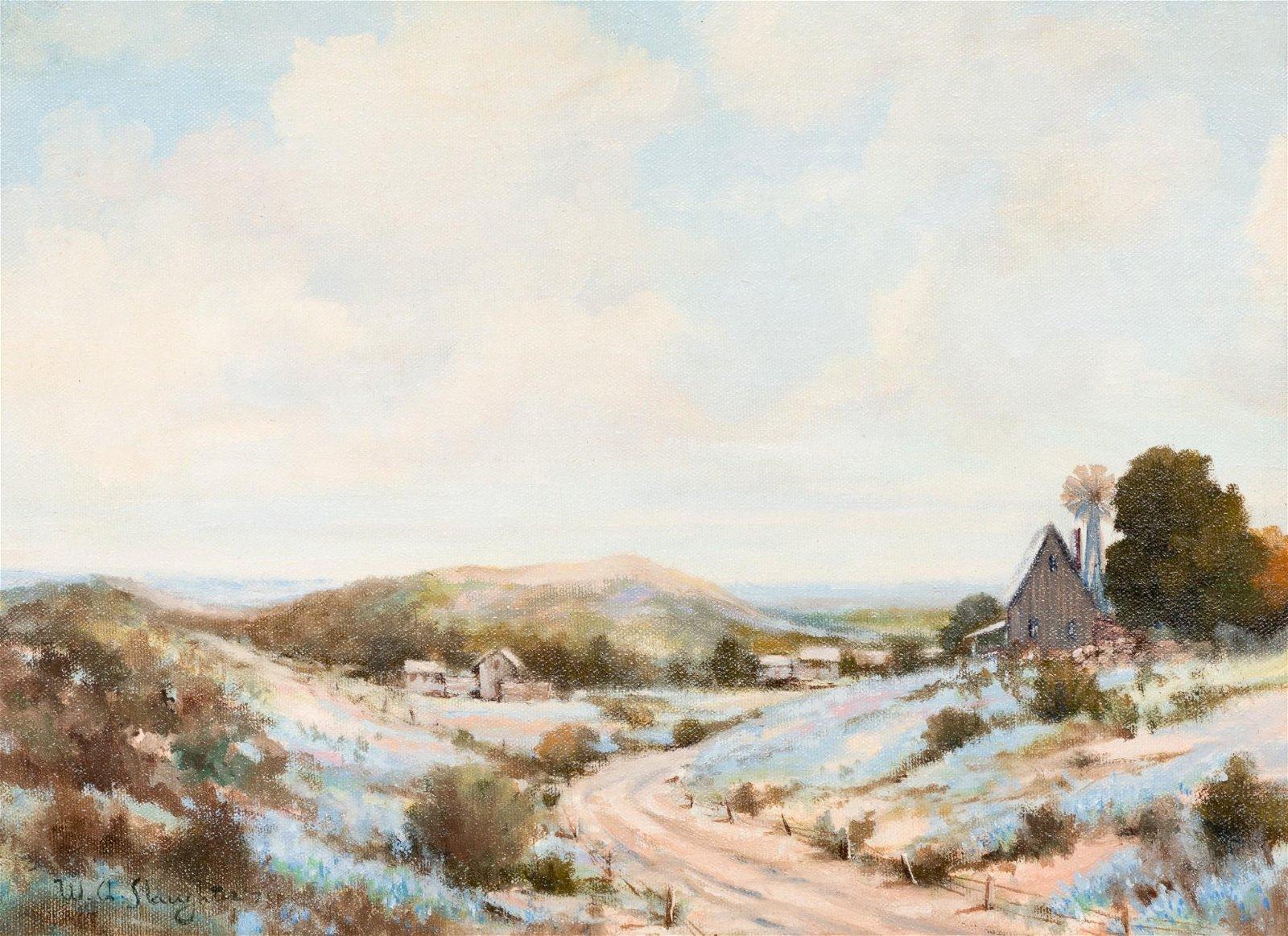 William Slaughter (1923-2003), Bluebonnet Farm, 1978,