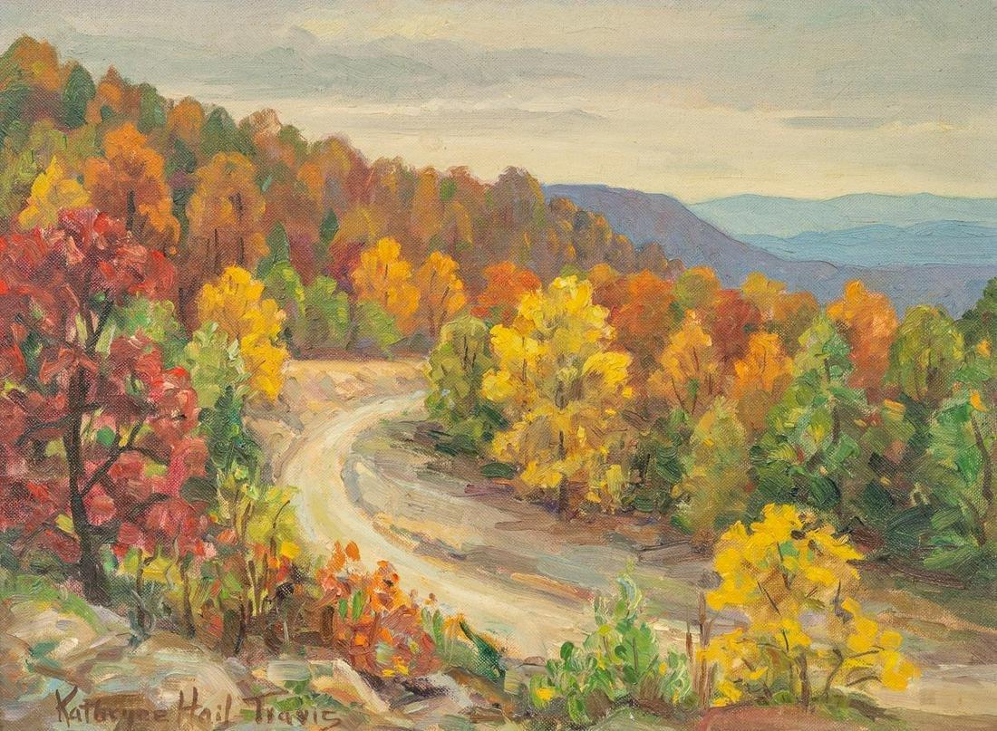 """Kathryne Hail Travis (1894-1972), """"Sand Gap, Arkansas"""""""