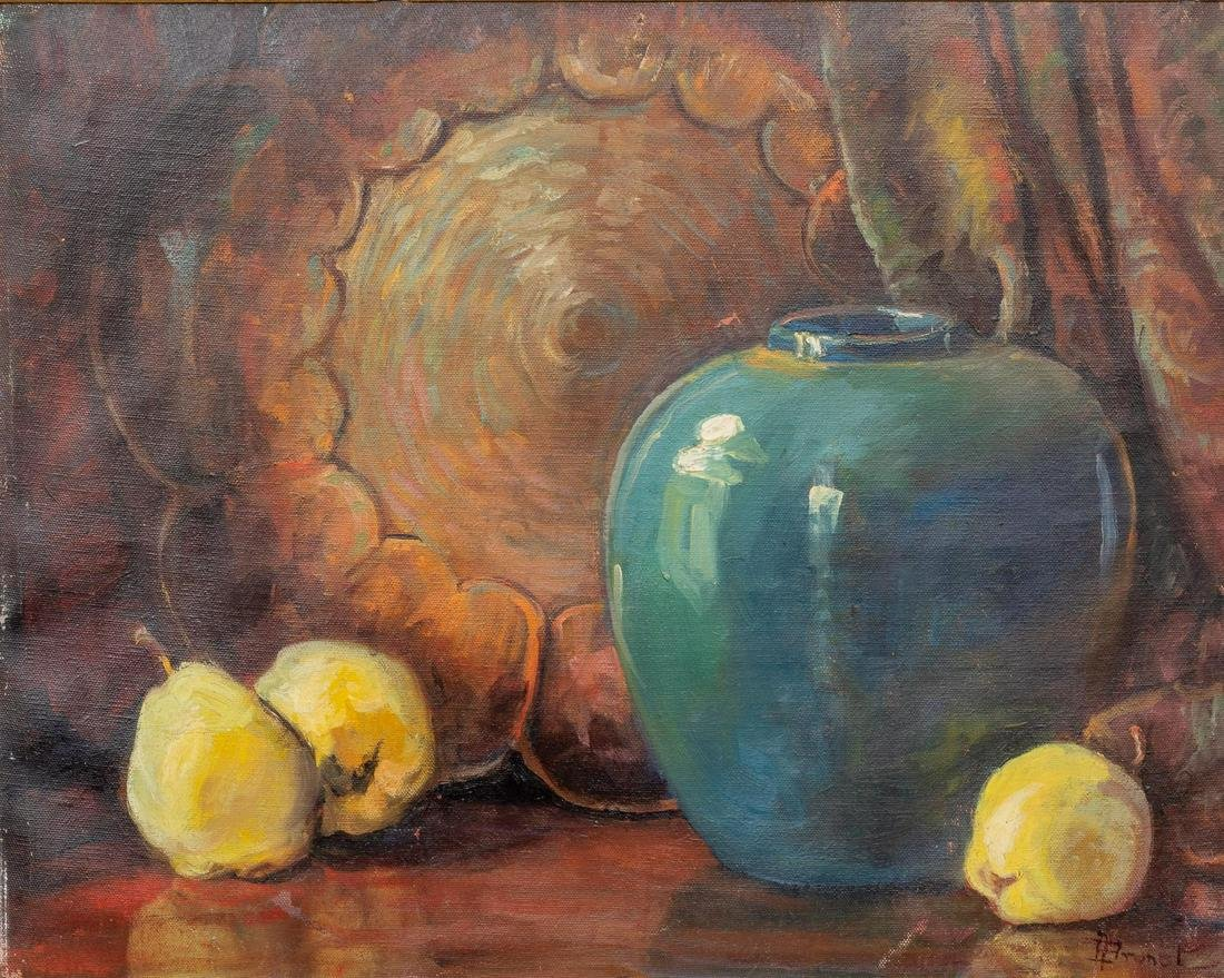 Adele Brunet (1871-1963), Still Life with Blue Vase,