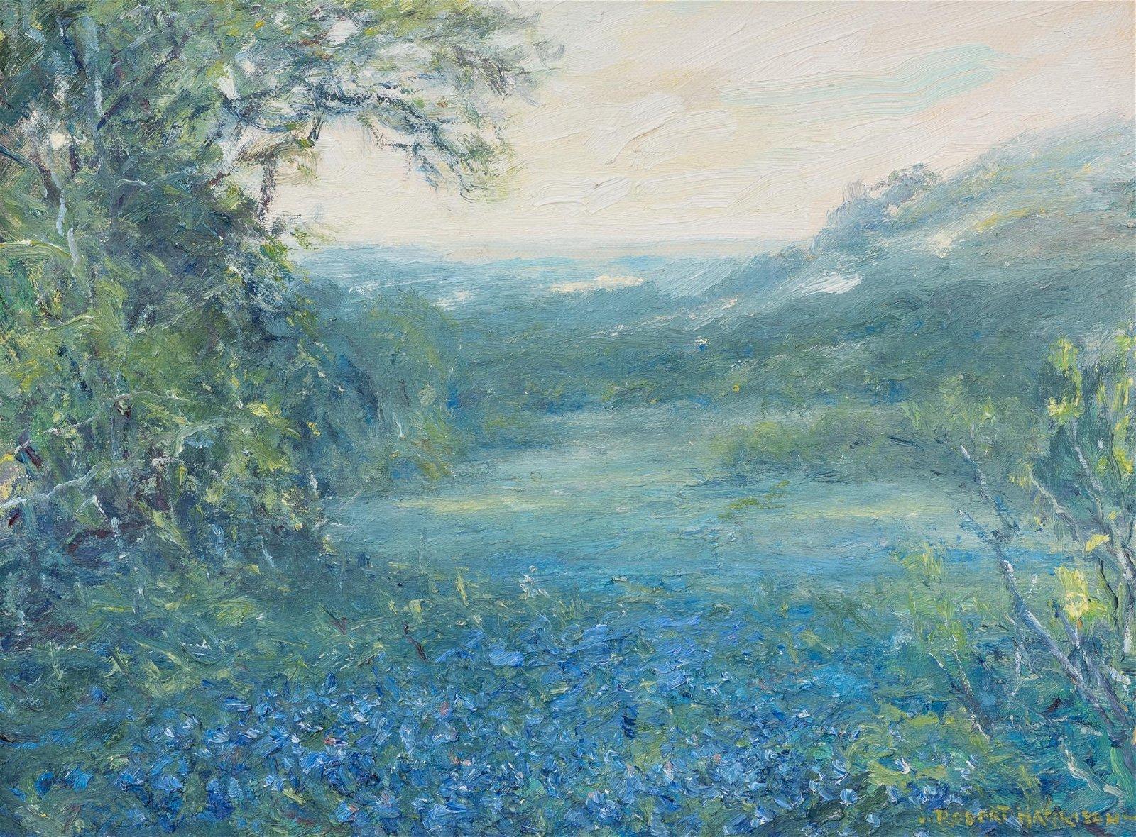 "Robert Harrison (b. 1949), ""Twilight"", 2008, oil"