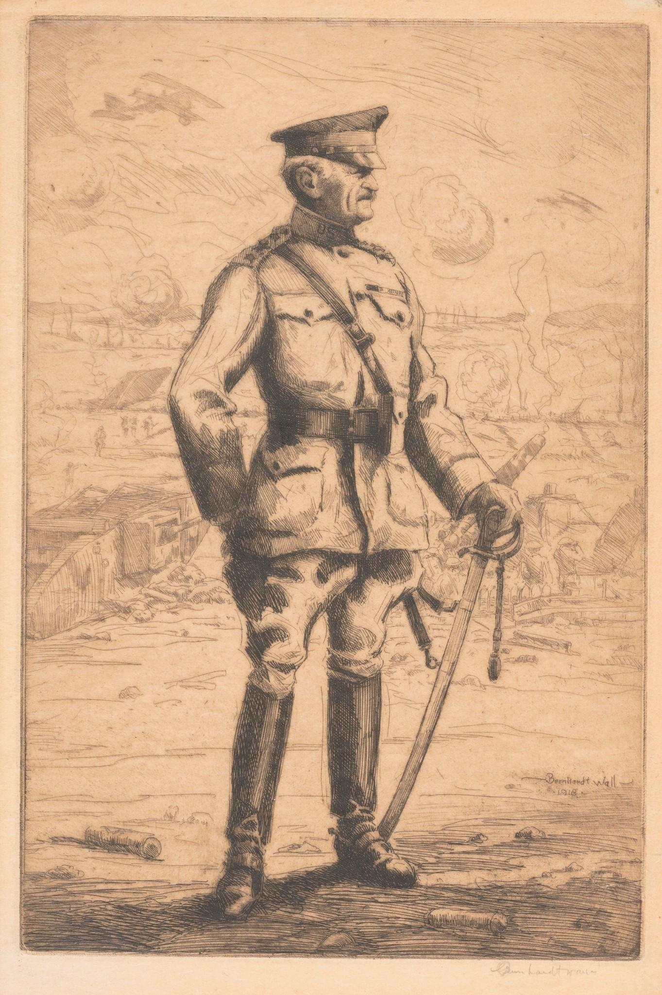 "Bernhardt Wall (1872-1956), ""General John Pershing"","