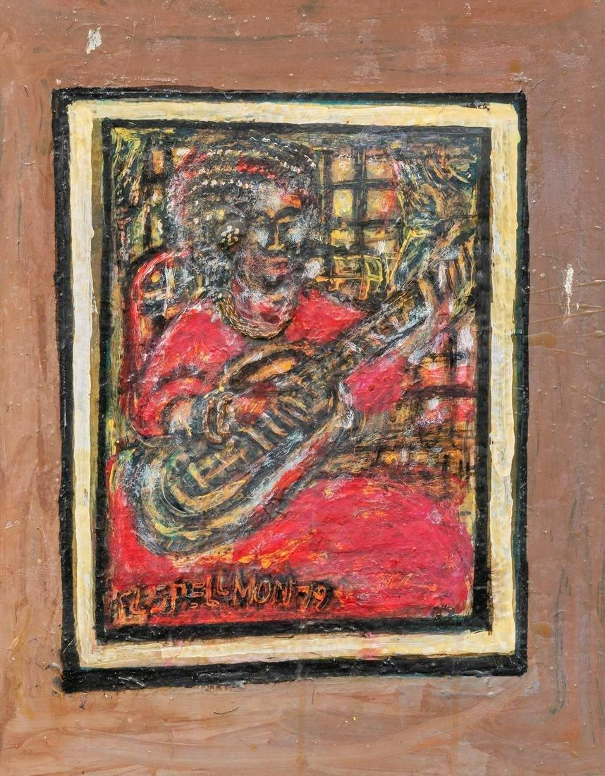"""Doc Spellmon (1925-2008), """"The Bluise Singer"""", 1979,"""