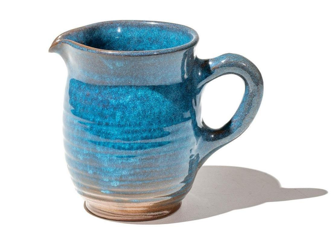 Harding Black (1912-2004), Cobalt Pitcher, 1987, glazed