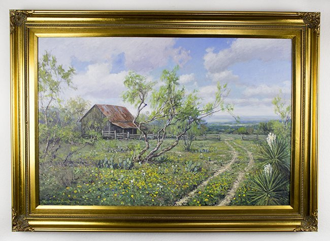 Robert Harrison, Country cabin, 2007, oil on canvas