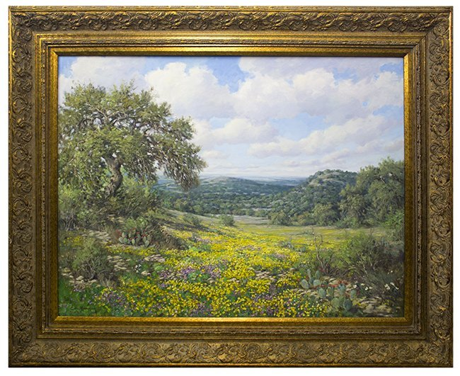 Eric Harrison,  Beautiful Spring Day , oil on canvas