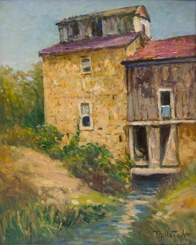 """Rolla Taylor (1872-1970),""""the Mill House, Castroville"""""""