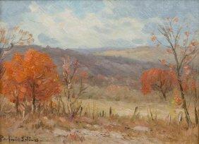 Porfirio Salinas (1910-1973), Autumn Landscape, Oil